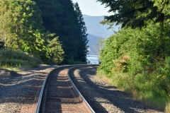But no trains were running because of the oil tanker derailment a few miles away.