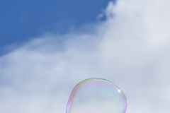 Bubble in the sky.