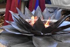 Lotus fire.