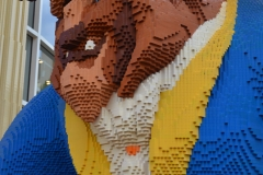 The Beast in legos.