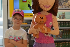 Maddie and the Lego girl.