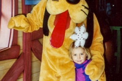 We took Aly to Disneyland when she was five.