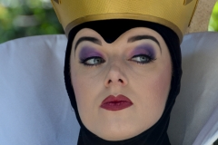 Some, such as the Wicked Queen, were just too intimidating to approach.