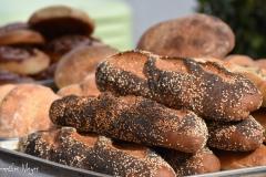 Fresh bread.