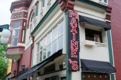Maxine's is an old-time bar.