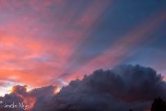 Maxfield Parish sky.