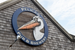 We went to Pelican Brewery.