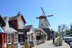Solvang is a Scandinavian village.