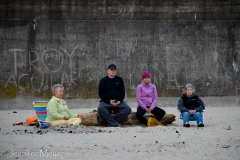 Meditating elders.