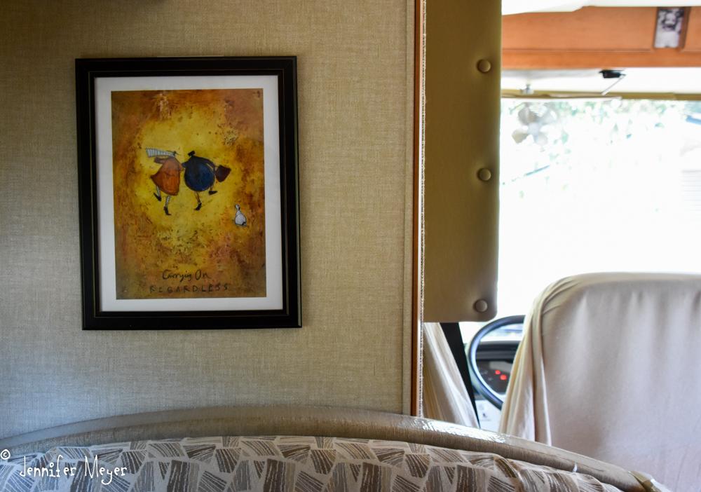 All of our framed art.