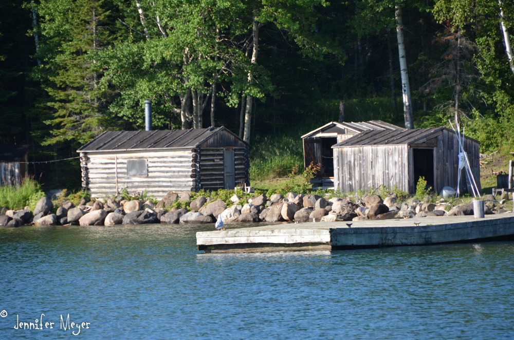 This fish camp dates back to the late 1800s.