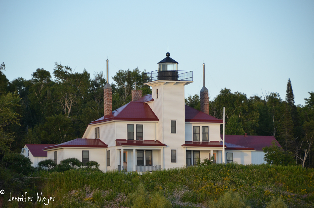Lighhousekeeper's house.