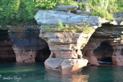 Interesting rock formations.