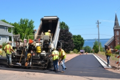 The road crews were very busy in the short summer months.