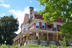 Bayfield is filled with beautiful old houses, many of them now inns.