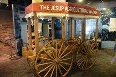 A replica of the Jesup Wagon.