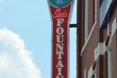 And the original soda fountain cafe.