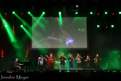 It was Loreena McKennit, The String Sisters, and two other women fiddlers.