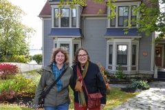 The next morning, we met Marcia and Cindy at their B&B in Baddeck.