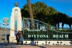 We're in Daytona Beach!