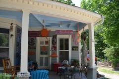 Funny porch.