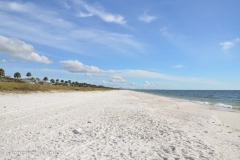 The soft white sand beaches Florida is famous for.