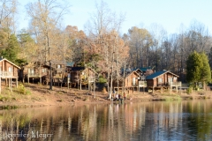 Cabins on Forest Lake.
