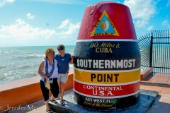 First stop: the Southernmost Point in the U.S.A.