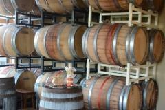 Resting barrels.