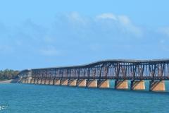 Bahia Honda Bridge is just south of Marathon.