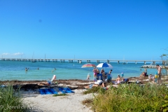 Unfortunately, the main beach was filled with stinky seagrass.