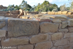 Notice the spiral carved into the brick.