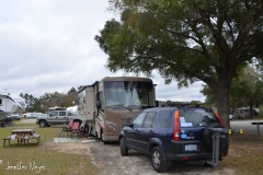 After a night in Walmart, we were able to get back into Orlando TT RV.