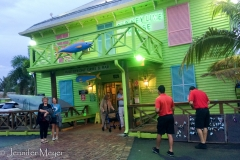 Our old friend, Janet, took us out to the Old Key Lime House for dinner.