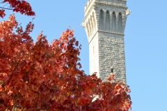 This tower, patterned after one in Sienna, was built in 1910 to commemorate Mayflower pilgrims.