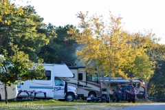 We were camped in the only RV park that's right in town.