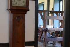 A loom in one of the main rooms.