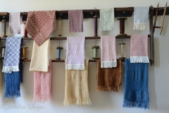Hand-made towels.