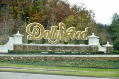 We drove right by Dollywood.