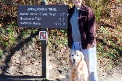 I always wanted to hike on the Appalachian Trail.