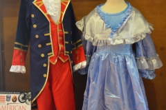 Costumes in the gift shop.